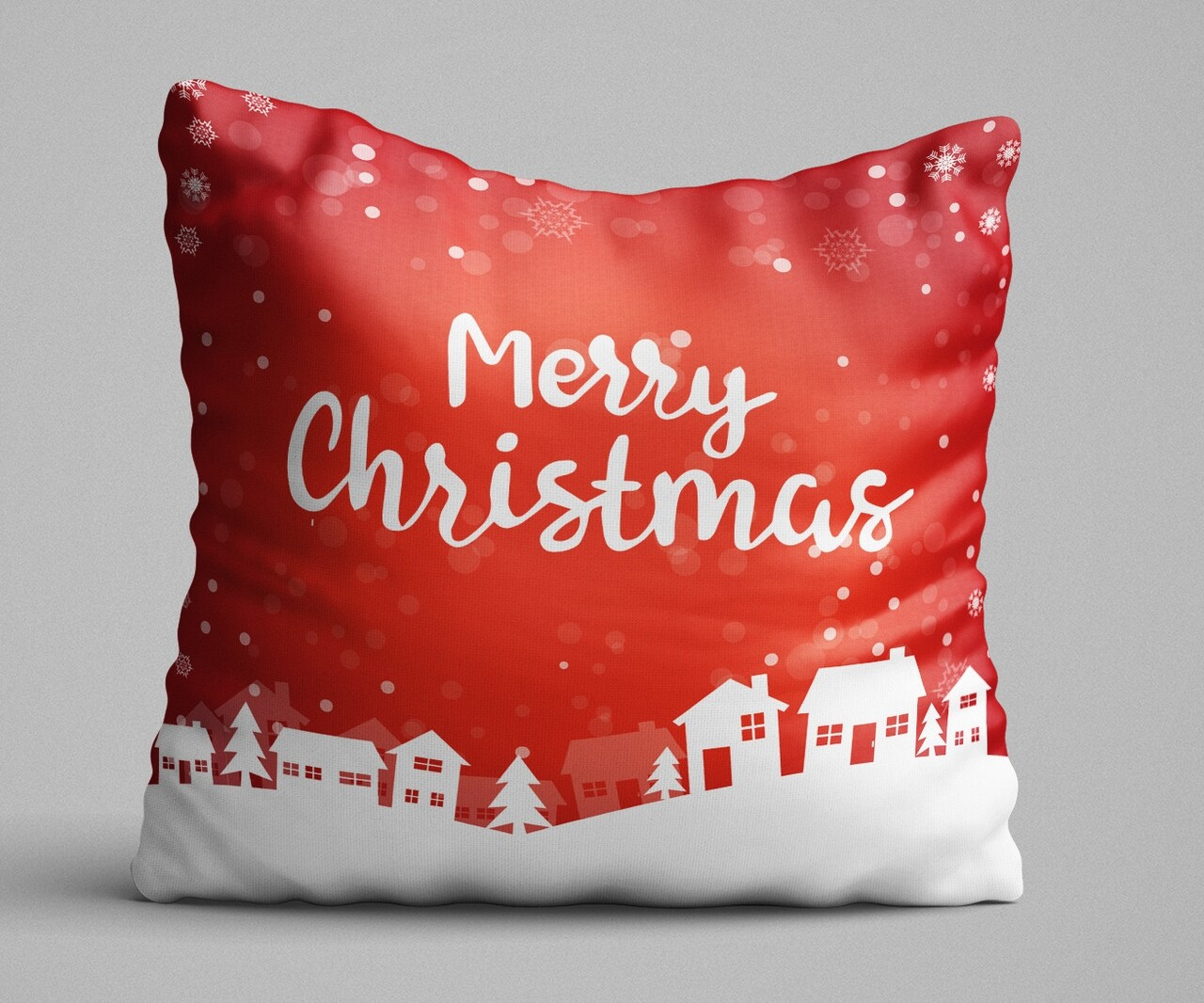 Perna decorativa, Christmas Decoration KRLNTXMAS-12, 43x43 cm, policoton, multicolor