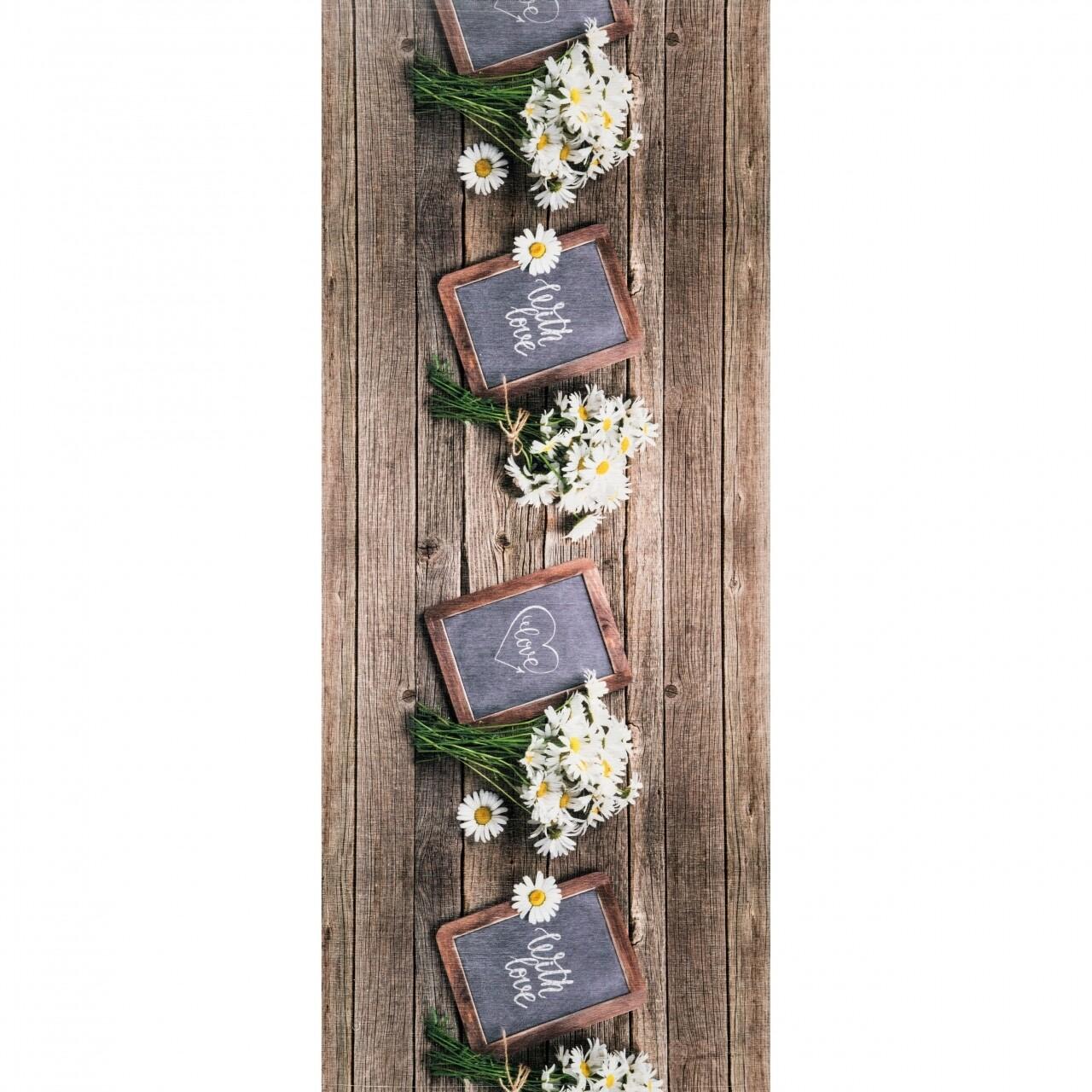 Covor rezistent Webtappeti Lavagna 58x140 cm, multicolor