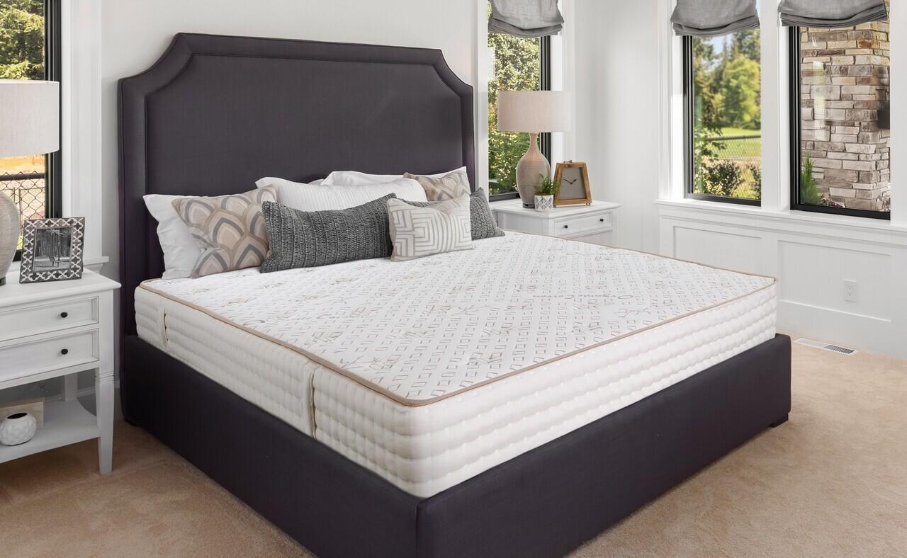 Saltea Premium Organic Cotton Pocket Memory 7 Zone de Confort 140x200 cm