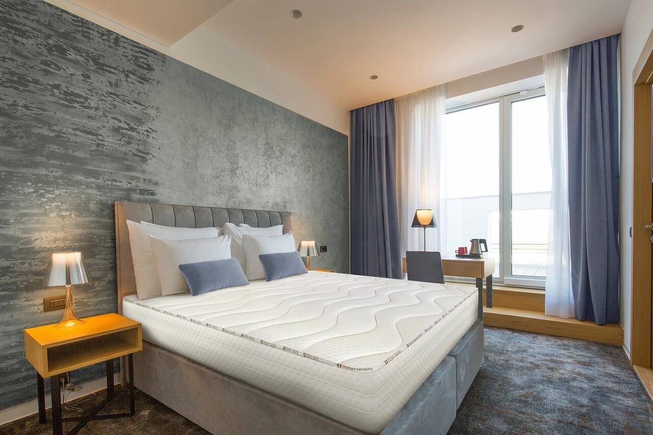 Saltea Green Future Hotel Line Cool 2 Memory 200x200 cm