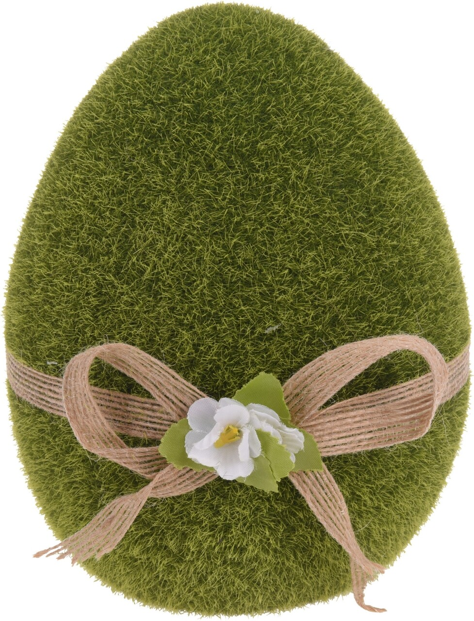 Decoratiune de paste Egg, 13x13x18 cm, ceramica, verde