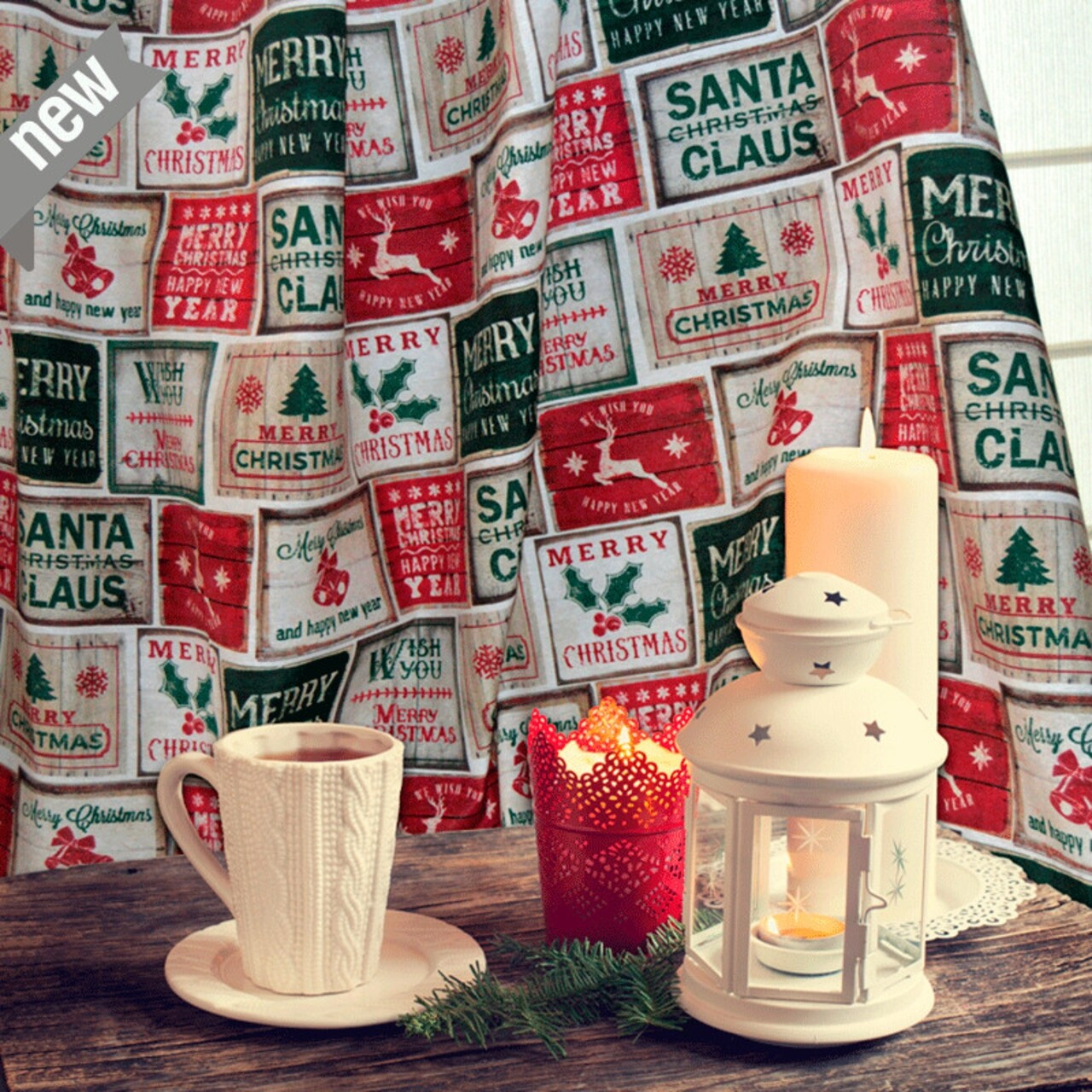 Fata de masa, Bedora Christmas Vintage, 140 x 280 cm