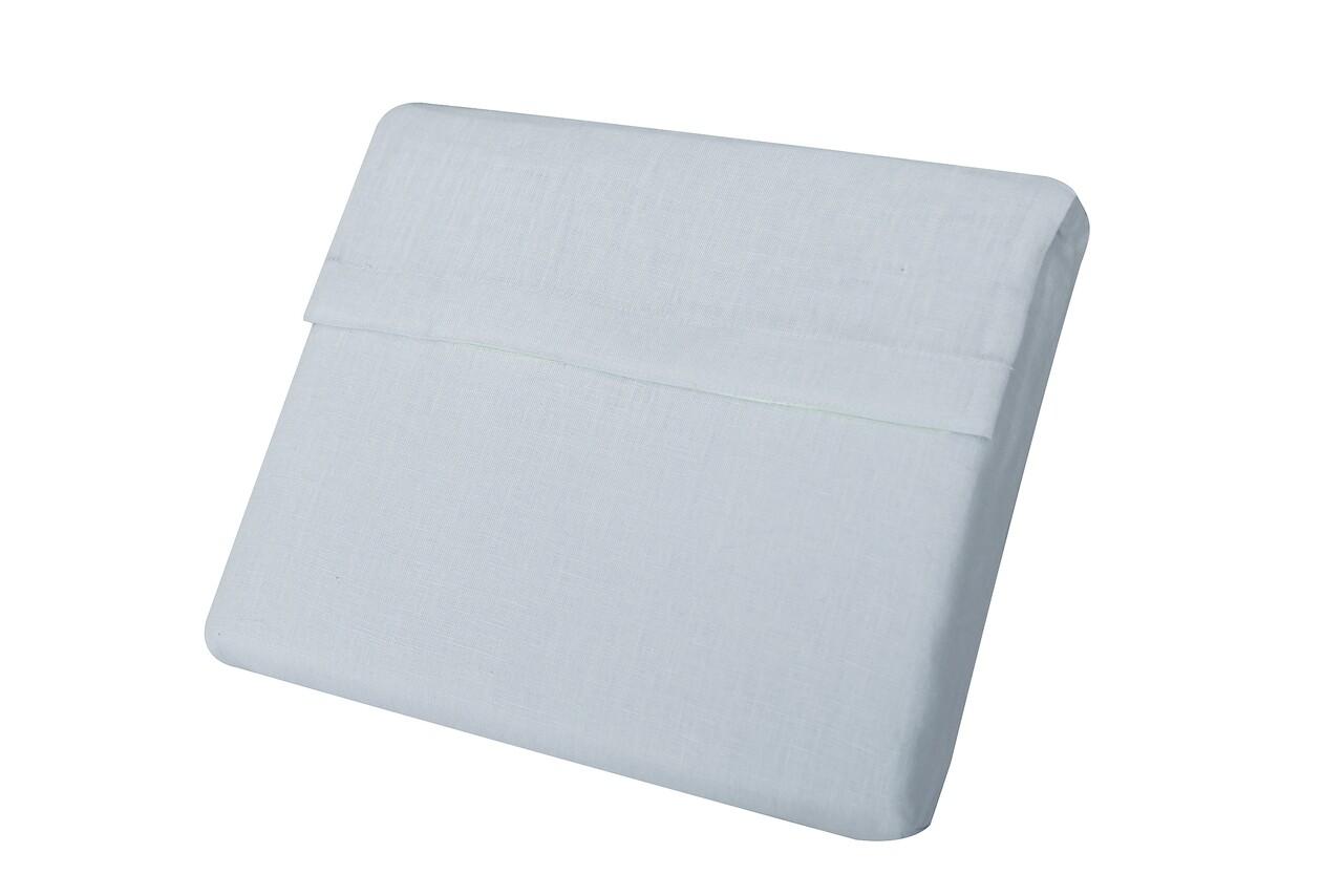 Cearceaf de pat 100% IN, Bedora, 280x280 cm, bleu