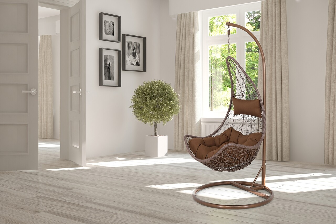 Leagan interior/exterior, New Carousel, 130 x 100 x 200 cm, maro