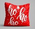 Perna decorativa, Christmas Decoration KRLNTXMAS-5, 43x43 cm, policoton, multicolor