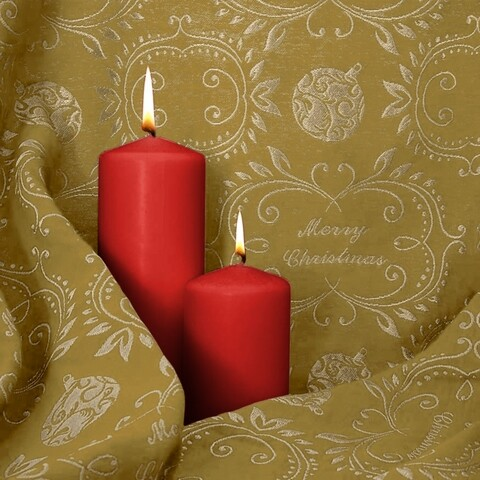 Fata de masa, Bedora Xmas Sparkle, 160 x 320 cm, jacquard