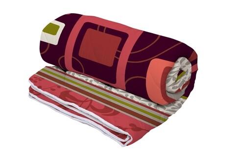 Pilota Alcam Red Velvet microfibra matlasata, 180x200 cm, 250g/mp