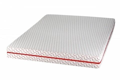 Saltea super ortopedica Viva Memory 90x200 cm, structura profilata cu efect de micro-masaj