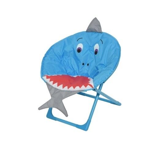 Scaun de gradina pentru copii Shark, Decoris, 52x42x48 cm, multicolor