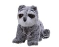 Figurina Decoris, Racoon, 26x17x19 cm, Gri