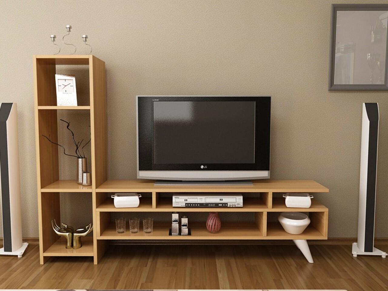 Comoda TV ELENA, Gauge Concept, 150x29.8x120 cm, PAL, tec