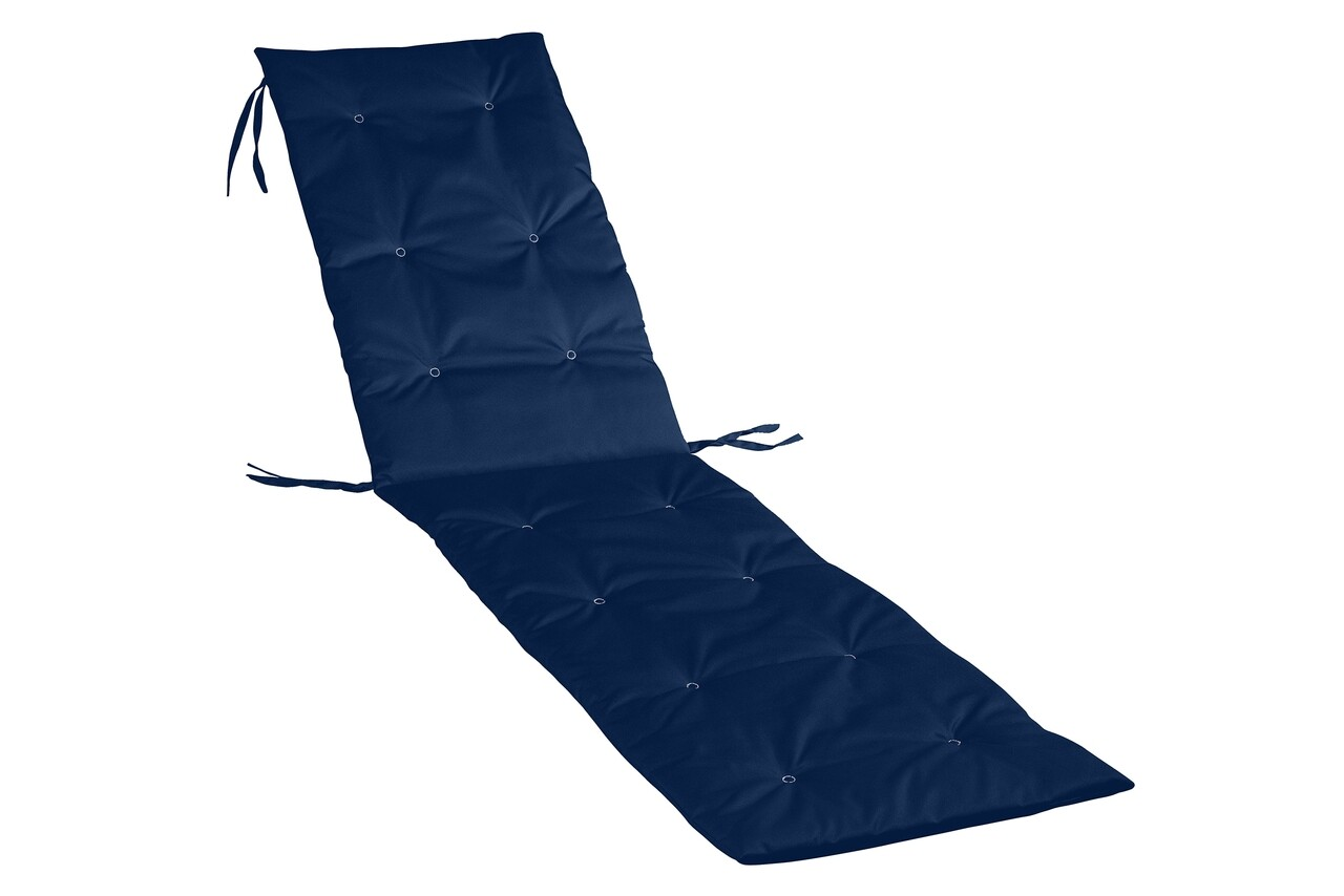 Perna sezlong Alcam, Midsummer, 195x50x3 cm, material impermeabil, Albastru