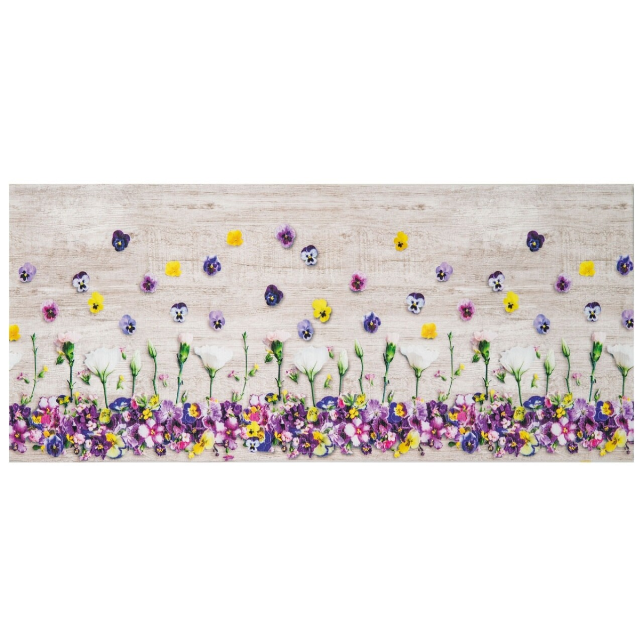 Covor rezistent Webtappeti Viole del Pensiero 58 x 115 cm, multicolor