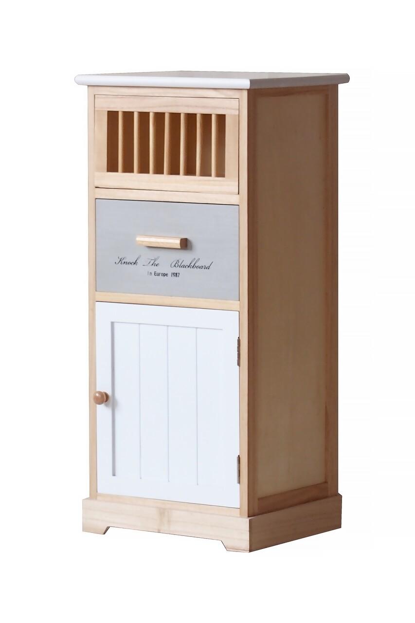 Comoda Vissage, Bedora, MDF, lemn, 35x30x76.5 cm