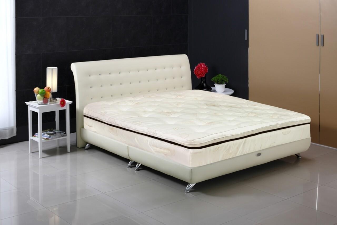 Saltea Feeling Luxury Brown 200x200 cm