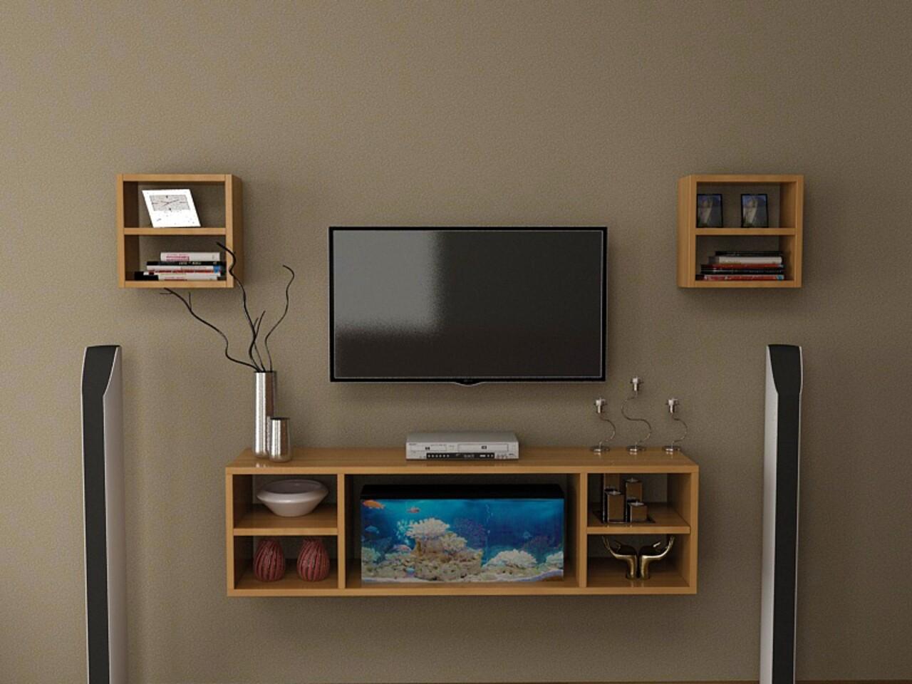 Comoda TV LINA, Gauge Concept, 150x35x54.6 cm, PAL, tec