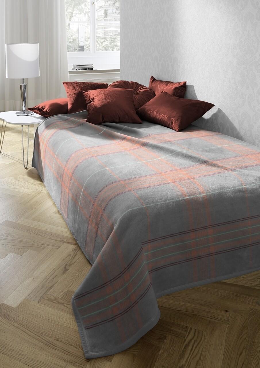 Patura Biederlack Softflor Check, 150x200 cm, Multicolor
