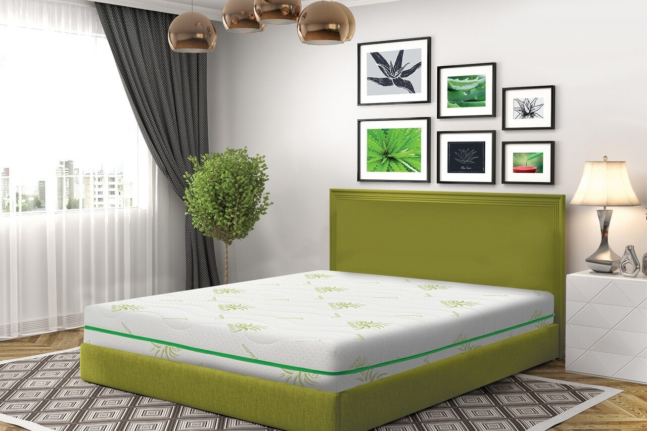 Saltea Green Future COOL Aloe Vera Memory, 180x190 cm
