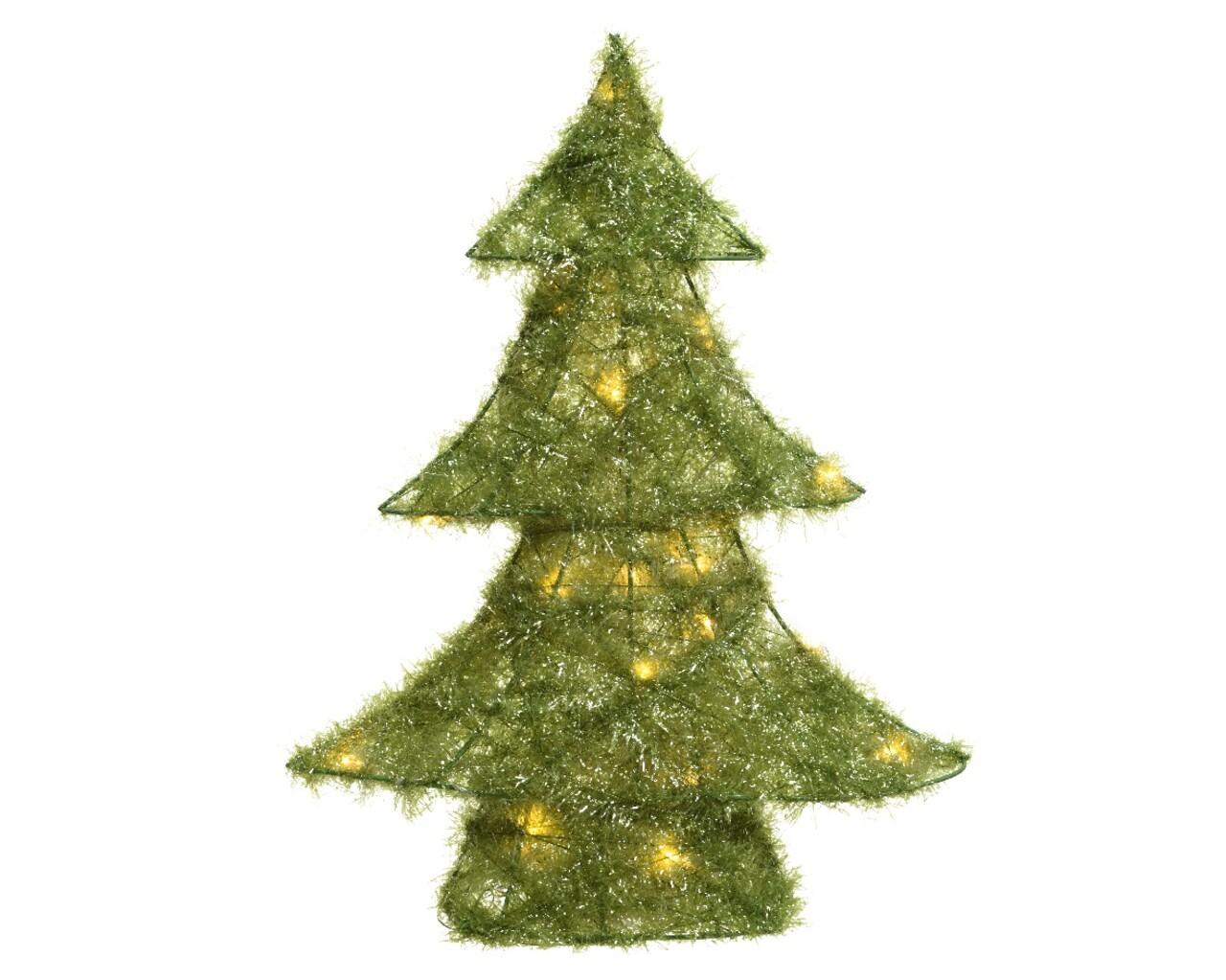 Decoratiune luminoasa Tree, Lumineo, 20 LED-uri, verde