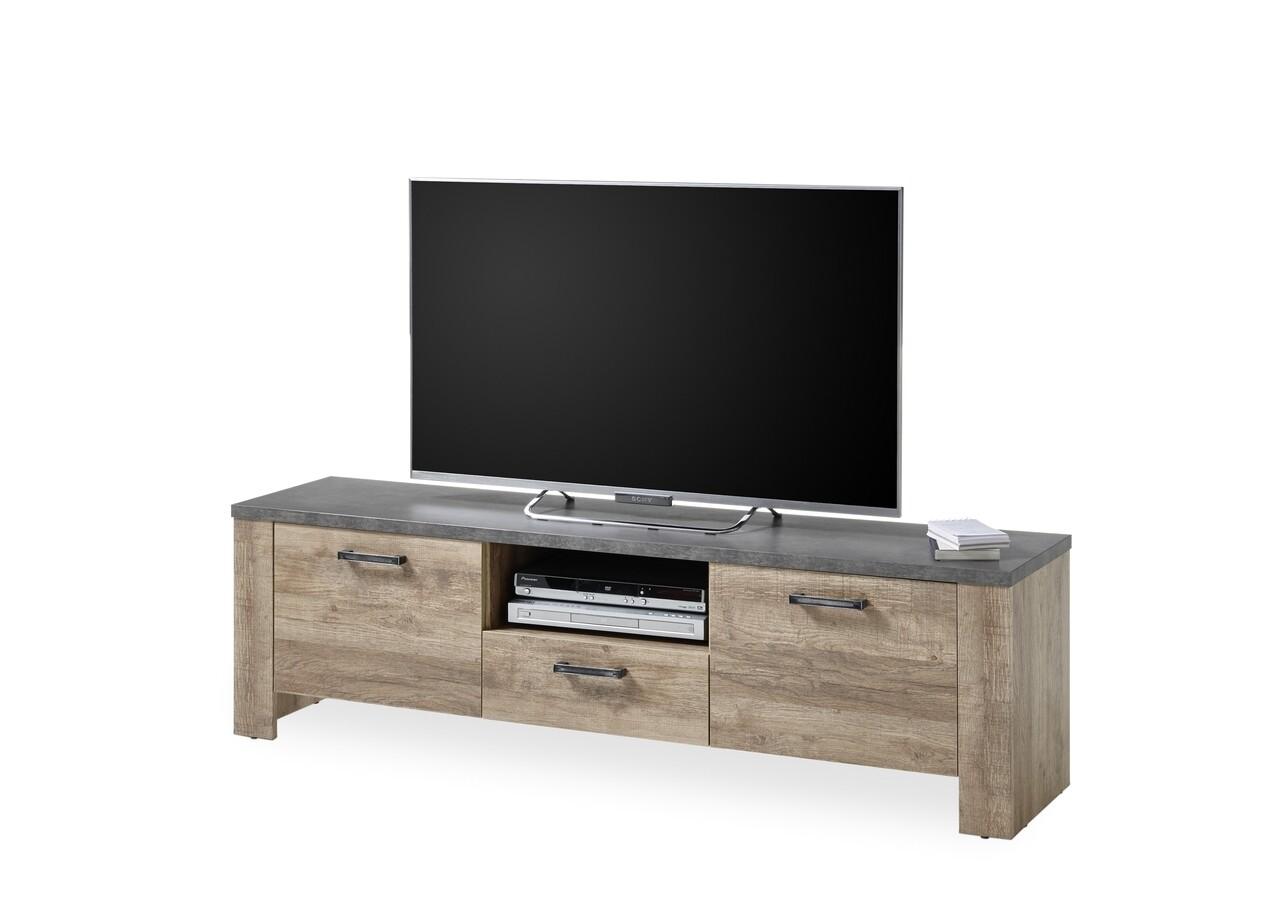 Comoda TV, Edmonton, 172 x 50 x 45 cm, PAL, maro