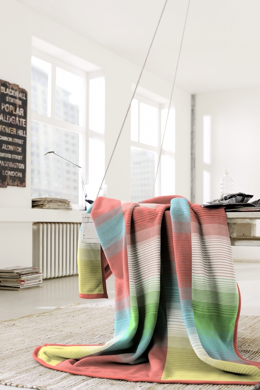 Patura Biederlack Supersoft Goody, 150x200 cm, Multicolor