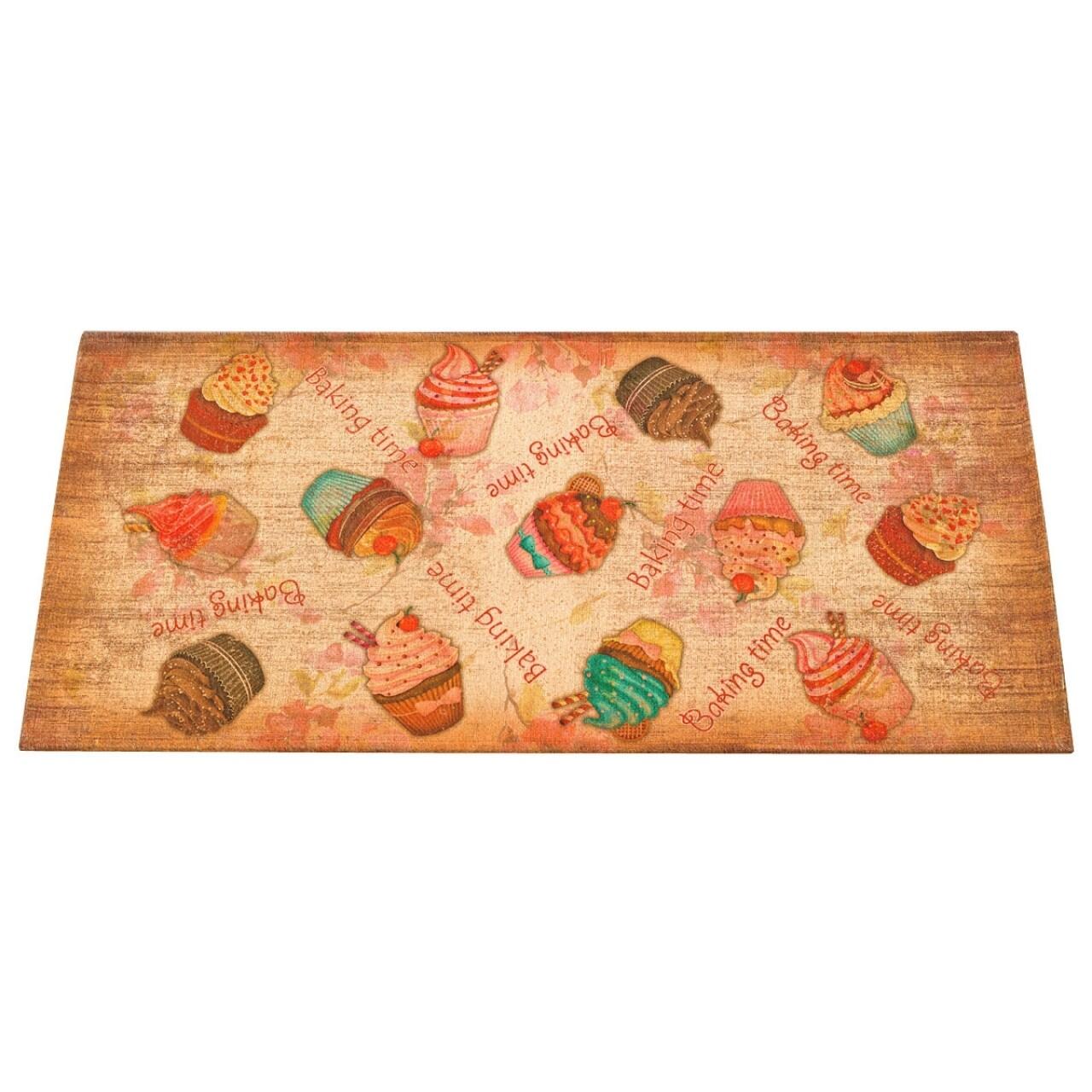 Covor rezistent Webtappeti Cakes 60 x 190 cm, multicolor