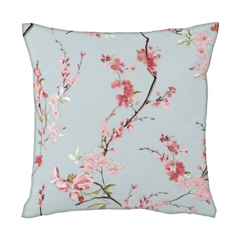 Perna decorativa Cherry Flower, Heinner, 40x40, bumbac, multicolor