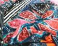 Lenjerie de pat pentru doua persoane Loar Black, Melli Mello,100% bumbac satinat