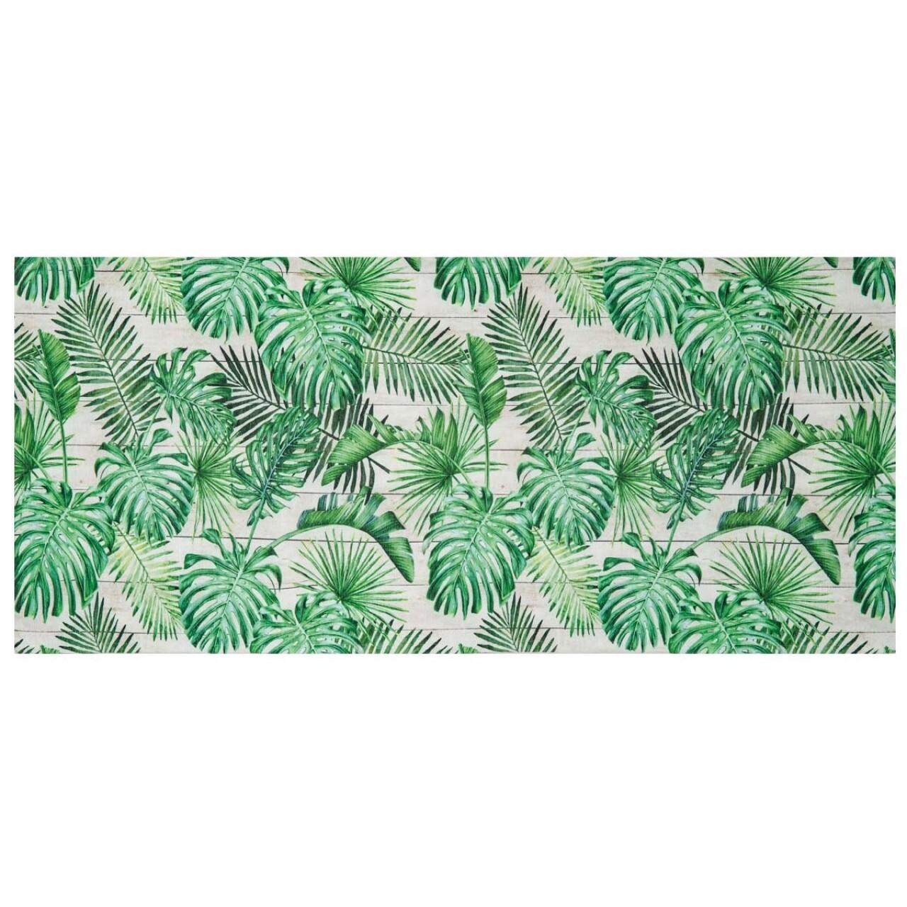 Covor rezistent Webtappeti Tahiti 58 x 140 cm, verde