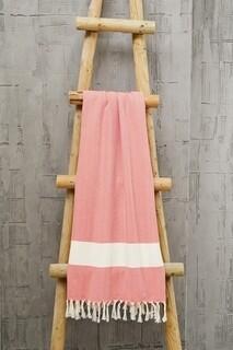 Prosop de plaja Belinda, Foutastic, 100x180 cm, rosu