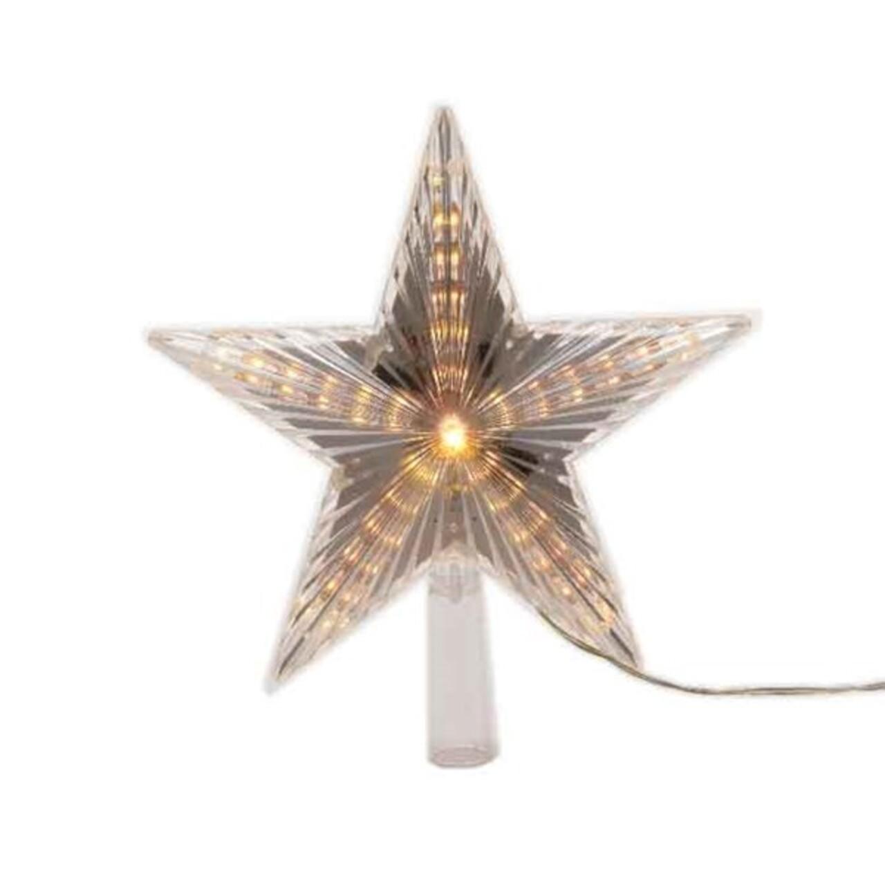 Decoratiune luminoasa Star, Lumineo, 31 LED-uri, alb
