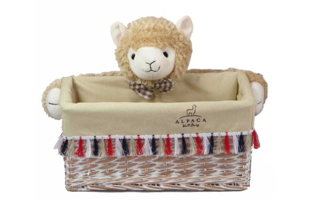 Cos M Alpaca, Bedora, salcie/material textil, multicolor