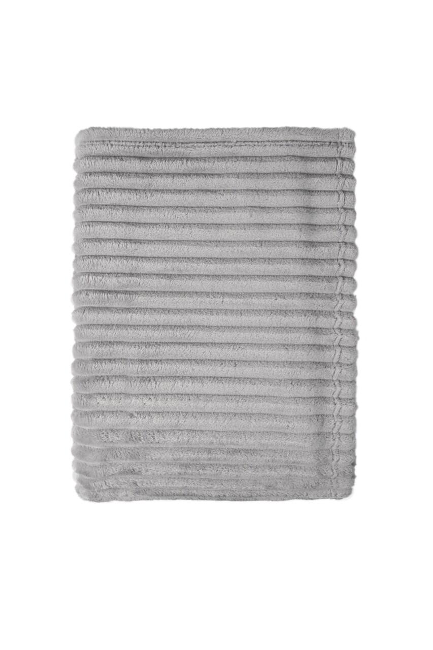 Patura Mistral Flannel plaid combo, Bold Stripes, 130x170 cm