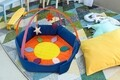 Tarc de joaca, 95x82x20 cm, Interactiv, Multicolor