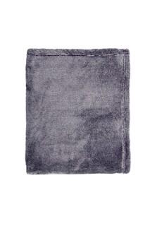 Patura Mistral Flannel plaid combo, Deep Denim, 130x170 cm, 100% poliester, bleumarin