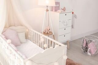 Saltea copii ortopedica, Baby Sleepy, Bonnell White 60x120 cm