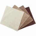Set 4 prosoape Hobby Rainbow Brown, 100% bumbac, 70 x 140 cm