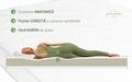 Saltea Green Future Clasic 90x200 cm, Super Ortopedica, Hipoalergenica, Ferma