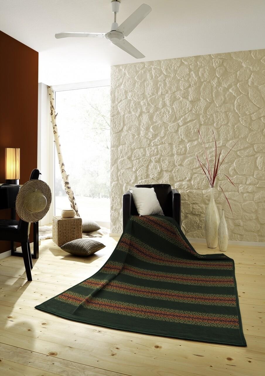Patura Biederlack Softflor Nigeria, 150x200 cm, multicolor