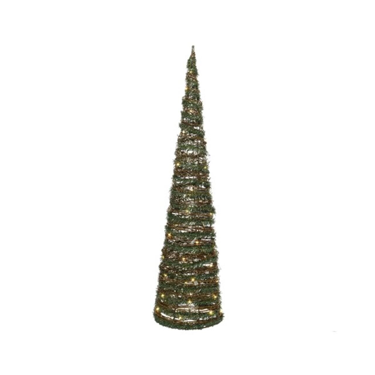 Decoratiune, Lumineo, Tree, 40 LED-uri, 19x19x60 cm, multicolor