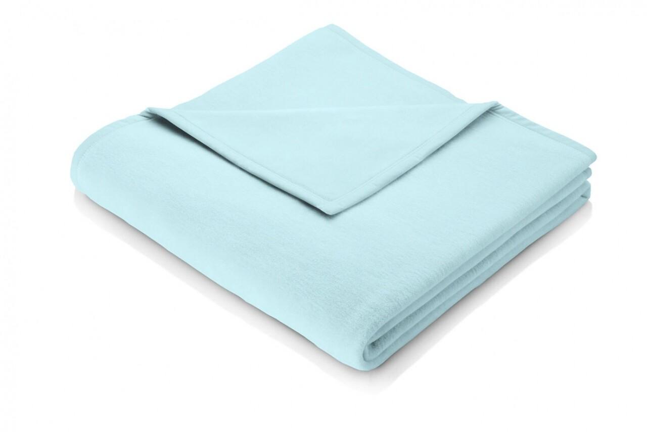 Patura Biederlack Blautopas, 150x200 cm, Bleu