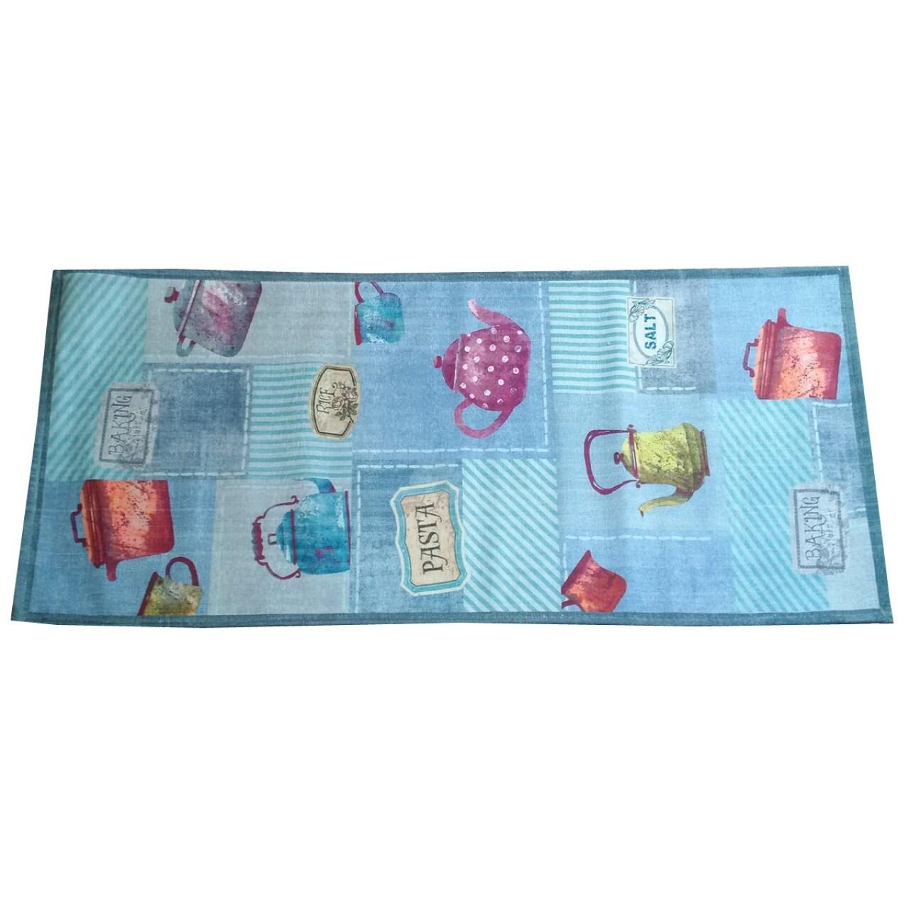 Covor rezistent Webtappeti Pots 60 x 240 cm, multicolor