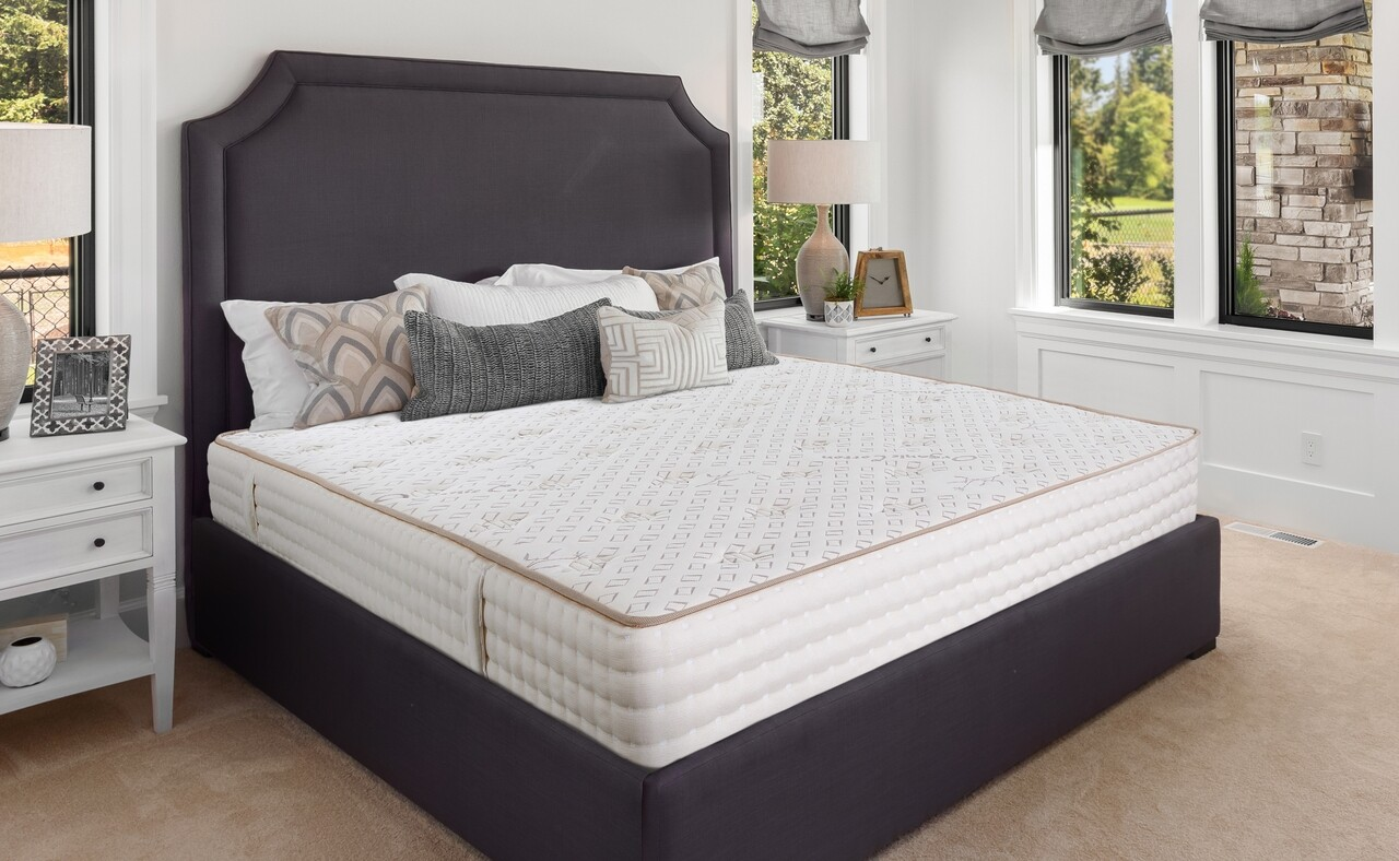 Saltea Premium Organic Cotton Pocket Memory 7 Zone de Confort 180x200 cm