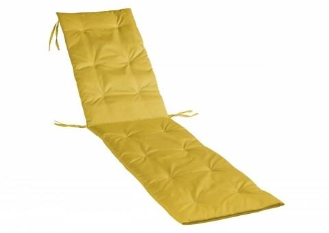 Perna Sezlong Bedora Summer Mustard Yellow