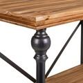 Consola Trinity, Creaciones Meng, 120x35x79.5 cm, lemn de brad