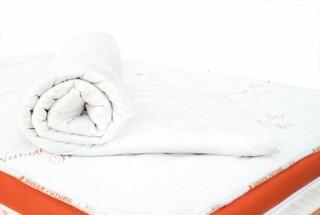 Protecție de saltea Wool 160x200 cm - Lână Merinos