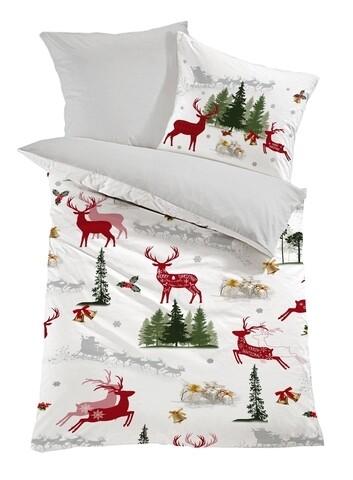 Lenjerie de pat pentru o persoana, Colors of Fashion, print 3D, 308, 2 piese,Bumbac Ranforce