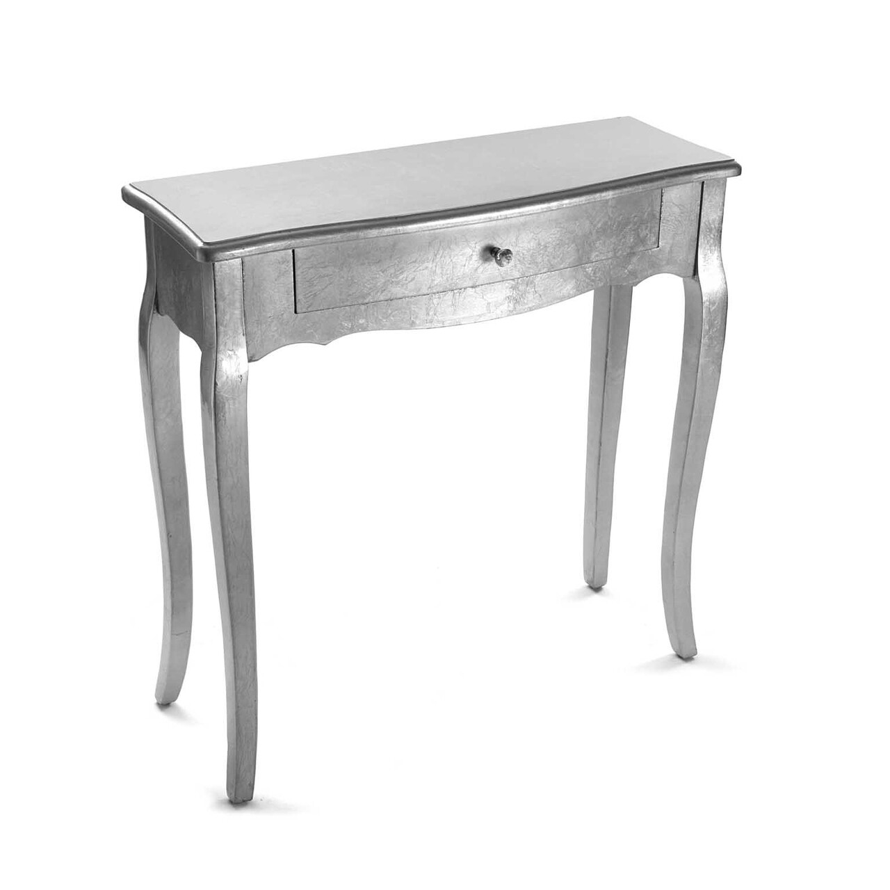 Consola cu 1 sertar Cagliari Silver, Versa, 80x30x80 cm, lemn de brad