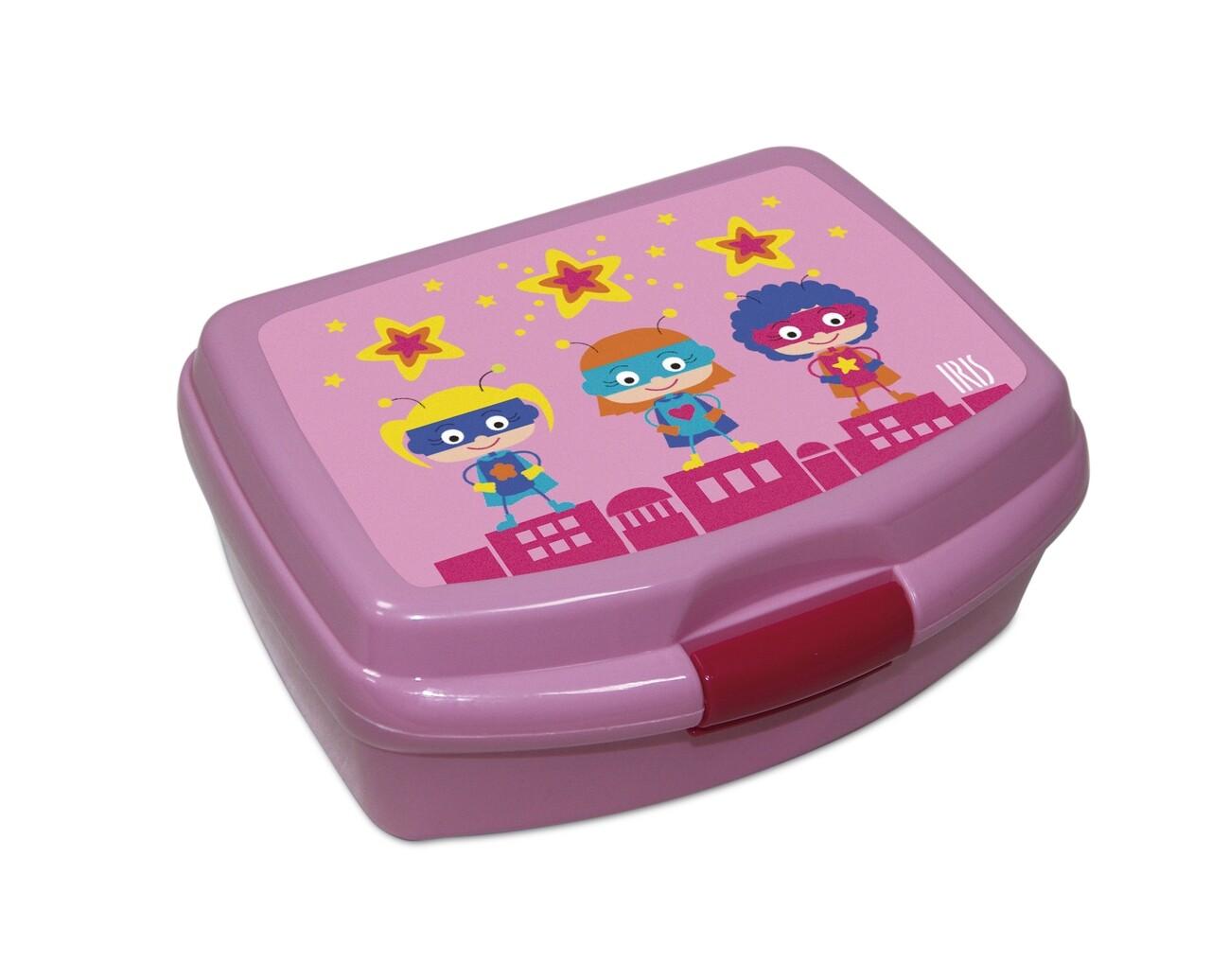 Cutie pranz pentru copii SnackRico, 550 ml, 16.8x13.5x6.5 cm, roz