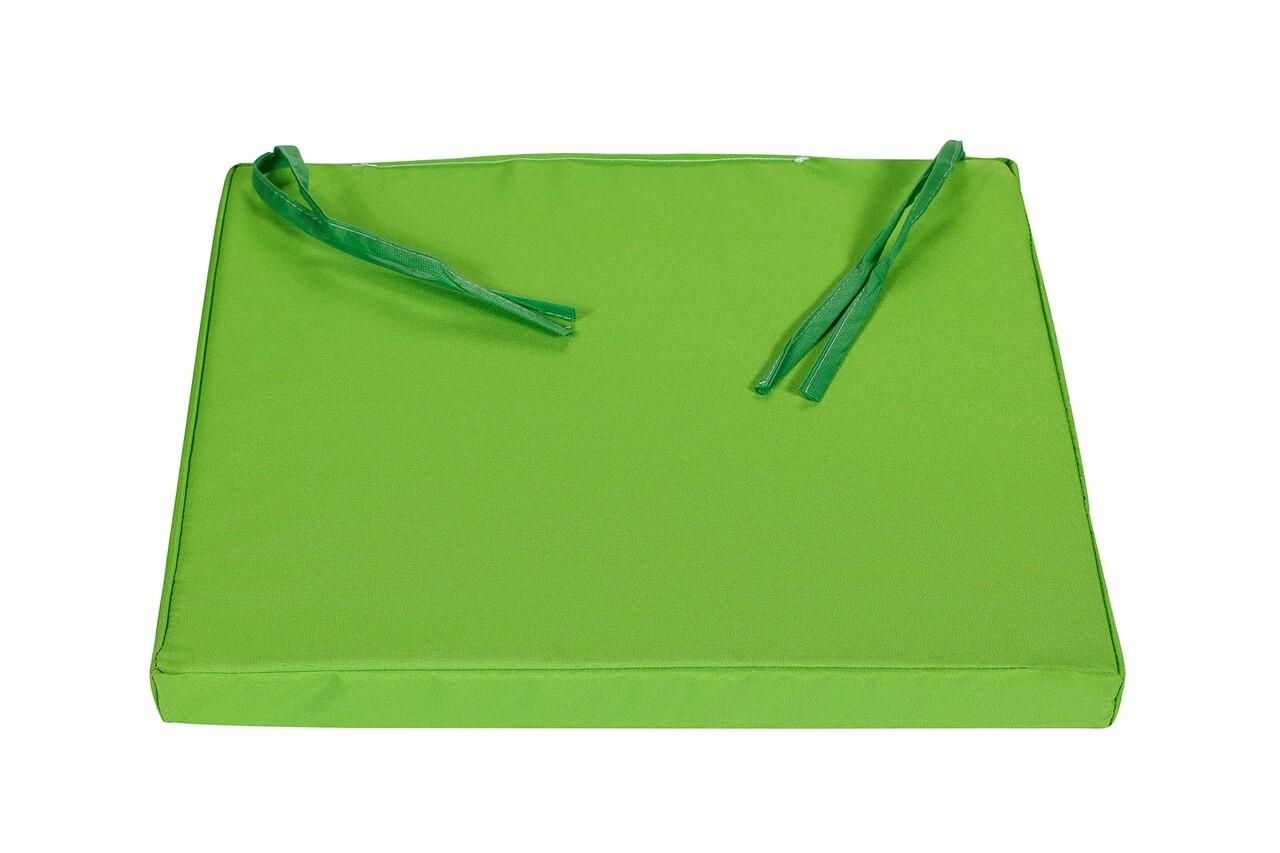 Perna scaun, Alcam, Verde, 40x42x3.5 cm